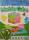 Blå Marble Cube - Martin L. Kung
